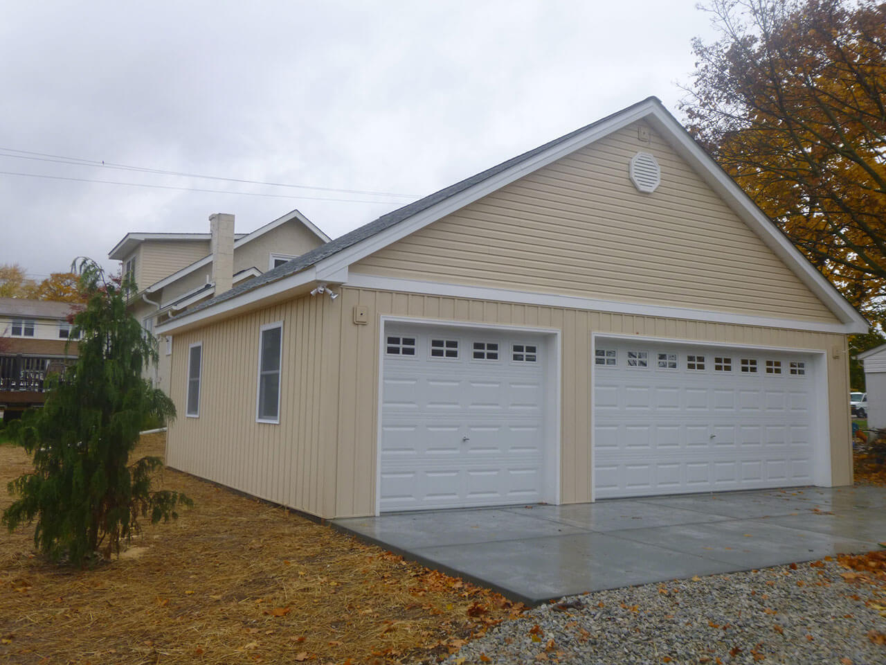 Garage builders apartment addition chester county pa for Free standing garage