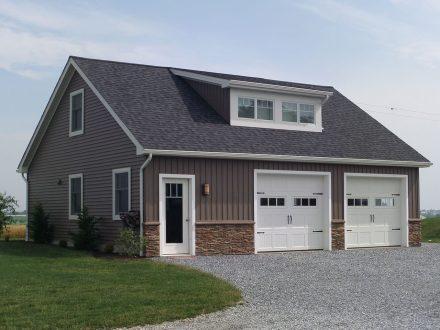 modern style cutom garage