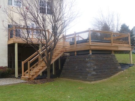 Wooden Deck in PA