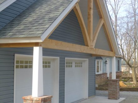 Coatesville PA custom Garage Build