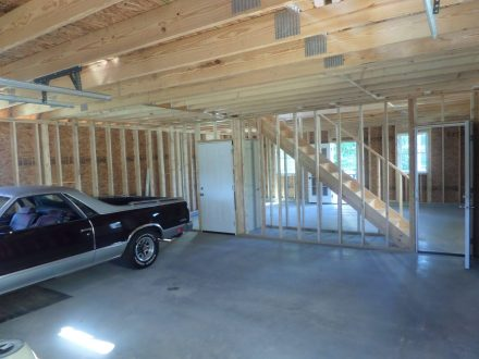 Interior Of 2-Car Garage