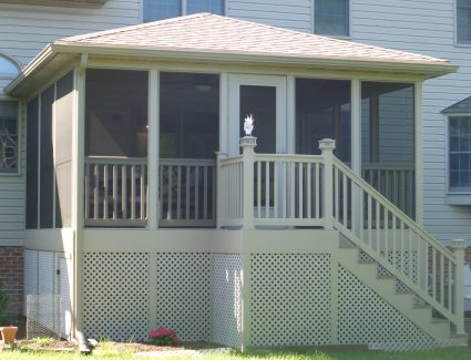 New Screened-In Deck