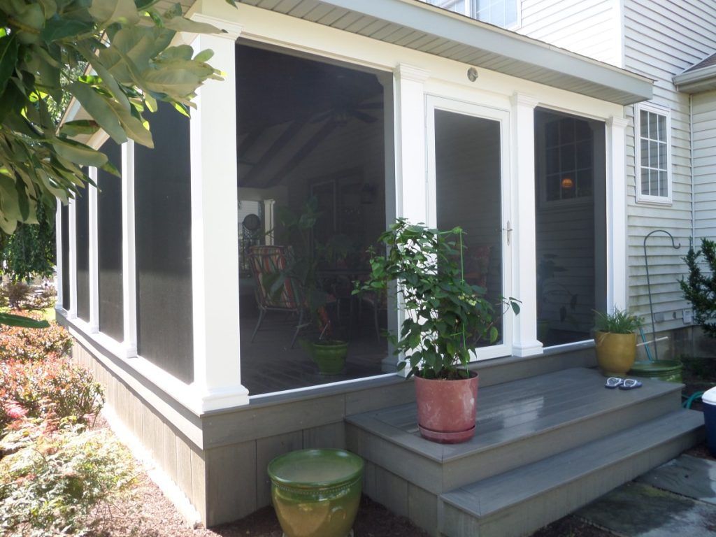 sun room porch enclosure