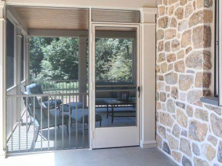 Screened-In Porch Door
