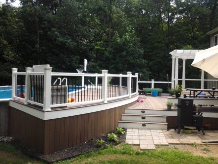 TimberTech Deck with Pergola